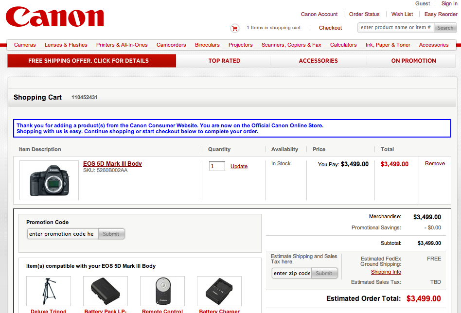 Canon coupon codes