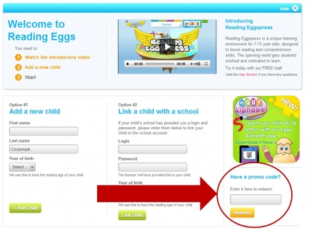 14 Day Free Trial - Reading Eggs