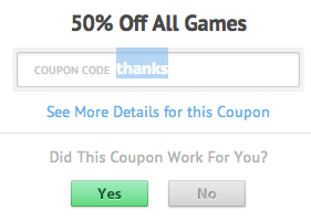 Gamehouse coupon 2018