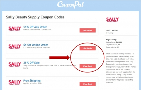 Sally Beauty Coupon Code by CouponPal com | Valid September 2019