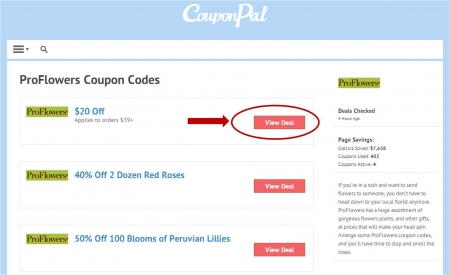 Pro flowers coupon code