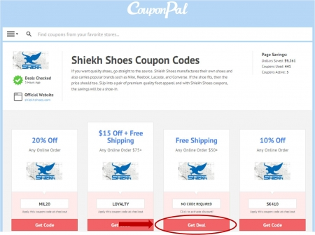 Shiekh Shoes Promo Codes. Shiekh Shoes began its vision of expansion in Since then, the company has enjoyed the success of opening stores in many of California's premiere malls. With the combination of dedication, management and the right product lines, Shiekh is now poised as a major retailer in the shoe and apparel industries.