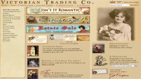 For Victorian Trading Co we currently have 3 coupons and 0 deals. Our users can save with our coupons on average about $Todays best offer is Free Shipping on $69+ ningbacvizel.ml you can't find a coupon or a deal for you product then sign up for alerts and you will get updates on every new coupon added for Victorian Trading Co.