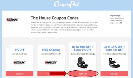 Get exclusive The House coupon codes & discounts when you join the downafileat.ga email list. Ends Dec. 31, When placing our test orders, these coupons for The House weren't working but you may want to try for yourself since we have been known to make mistakes. Coupon Code. .