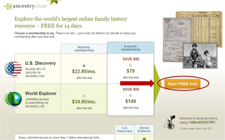 Recently Expired ancestry Coupons