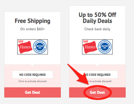 Hanes discount codes and coupons