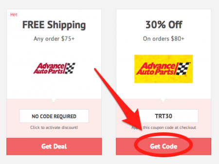 Advance auto coupon codes 2018