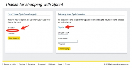 Sprint coupon or promo code