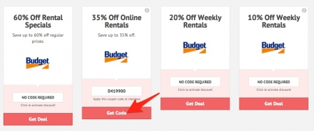Coupon Code Budget Car Rental Usa