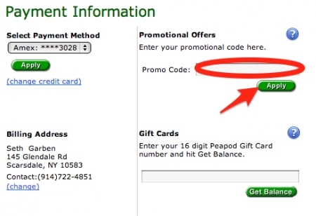 peapod vip coupon code