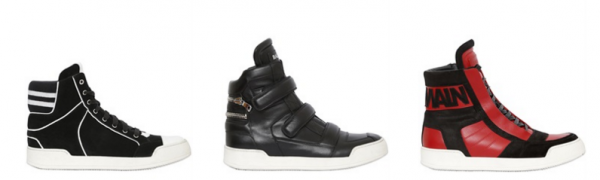 Balmain hightop sneakers